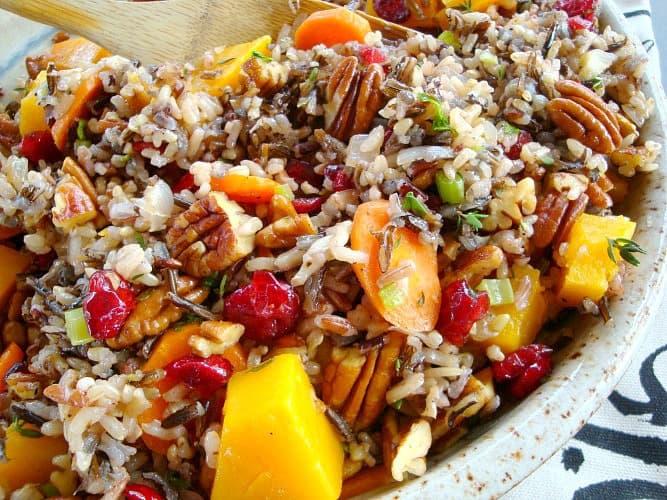 Vibrant Wild Rice Pilaf