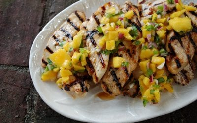 Mango Balsamic Chicken