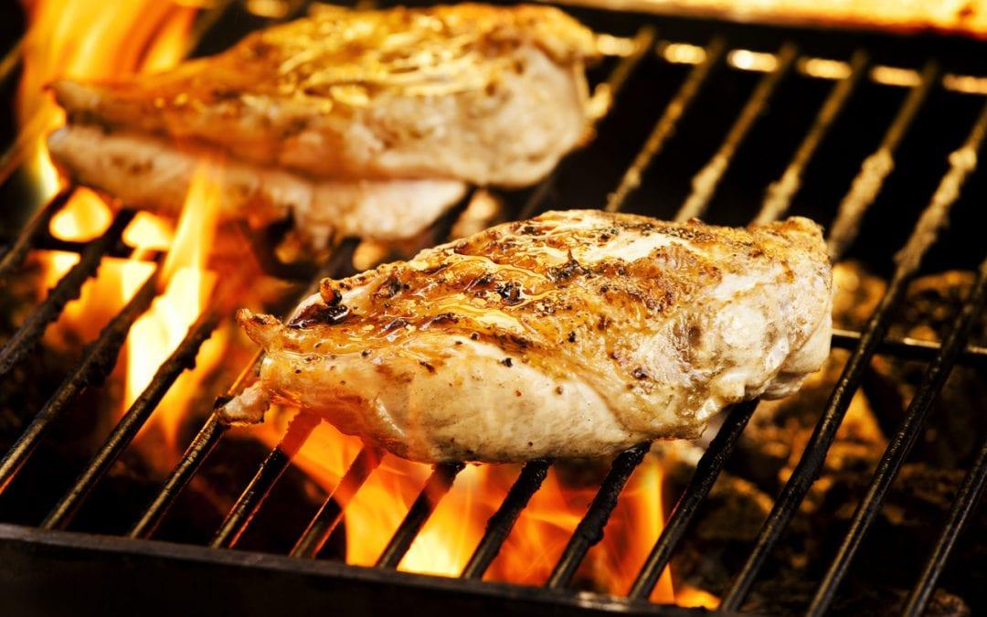 Blueberry Balsamic BBQ'd Chicken: A Summer Favourite!