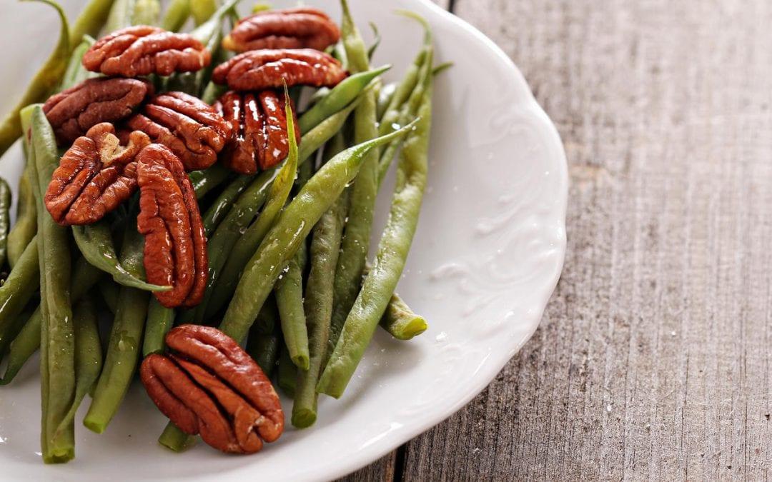 Blood Orange & Pecan Green Bean